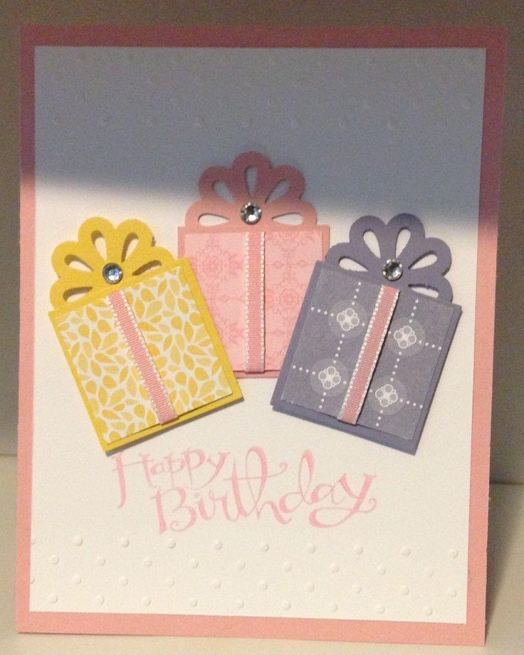 Die Cuttin Divas Challenge 110 Pastels Stampin Up Birthday Cards Handmade Birthday Cards Birthday Cards Diy
