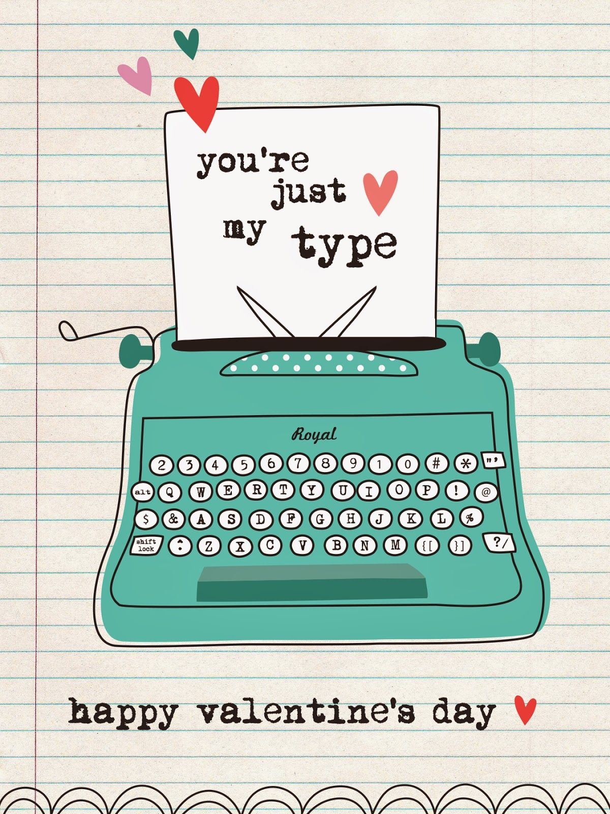 Free Valentine\'s Day Printable from We Love to Illustrate | Memory ...