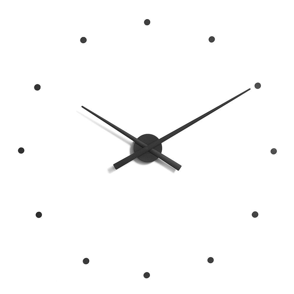 Oj Clock Black From Nomon Large Wall Clock Modern Wall Clock Wall Clock Modern
