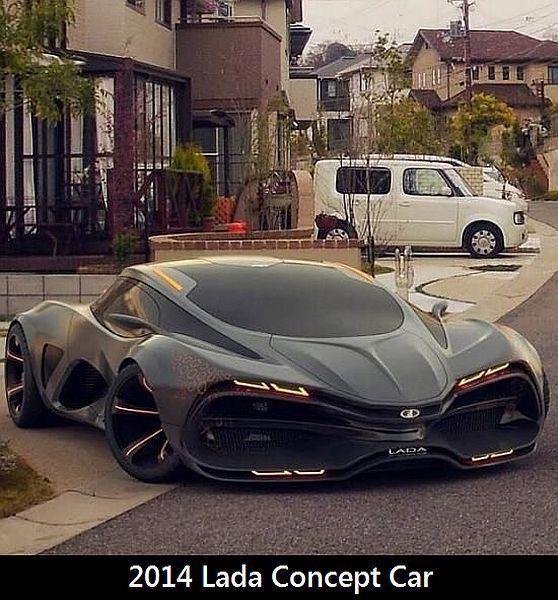 Das 2014er Concept Car von Lada #conceptcars