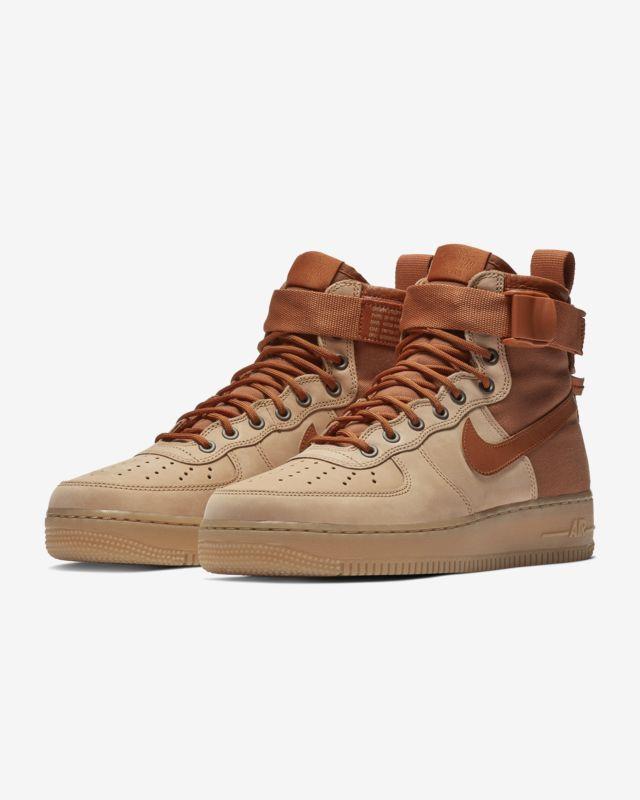 livraison gratuite 81c5c 5a7aa Chaussure Nike SF Air Force 1 Mid Premium pour Homme ...