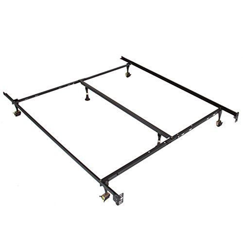 Bed Frame DIY] Metal Bed Frame Adjustable Queen Full Twin Size ...