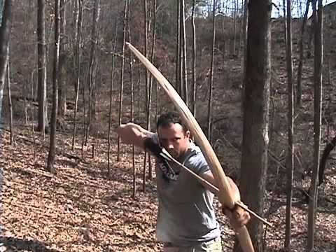 Making a Primitive Bow | Primitive Weapons | Archery bows