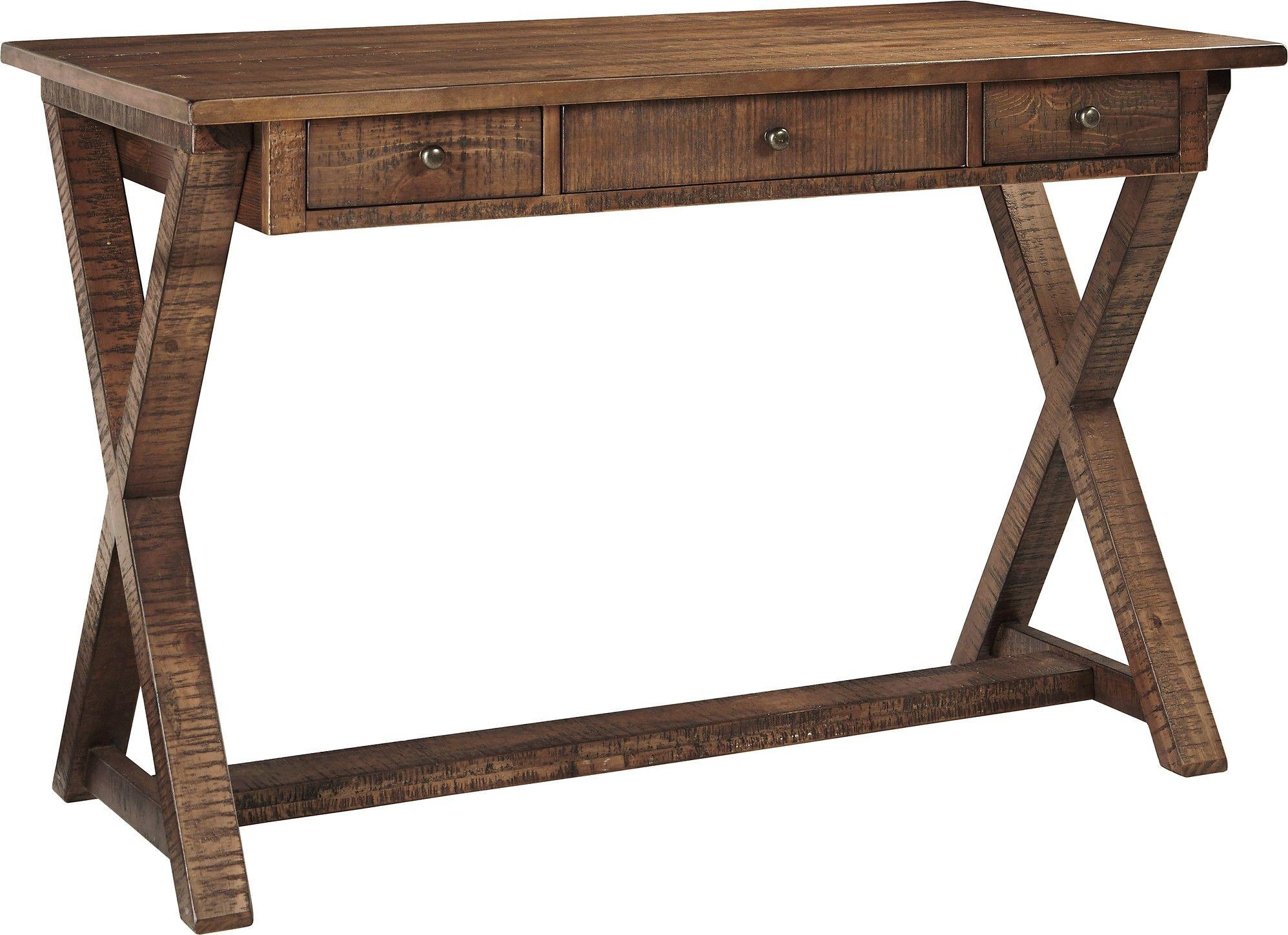 Ashley Minbreeze H588-11 Signature Design Home Office Large Leg Desk ...