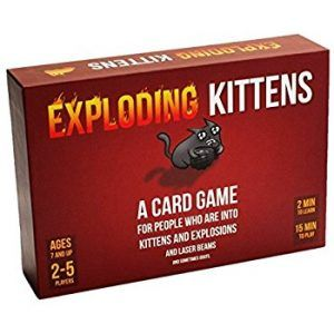 24/7 Online Store Exploding Kittens A Card Game About