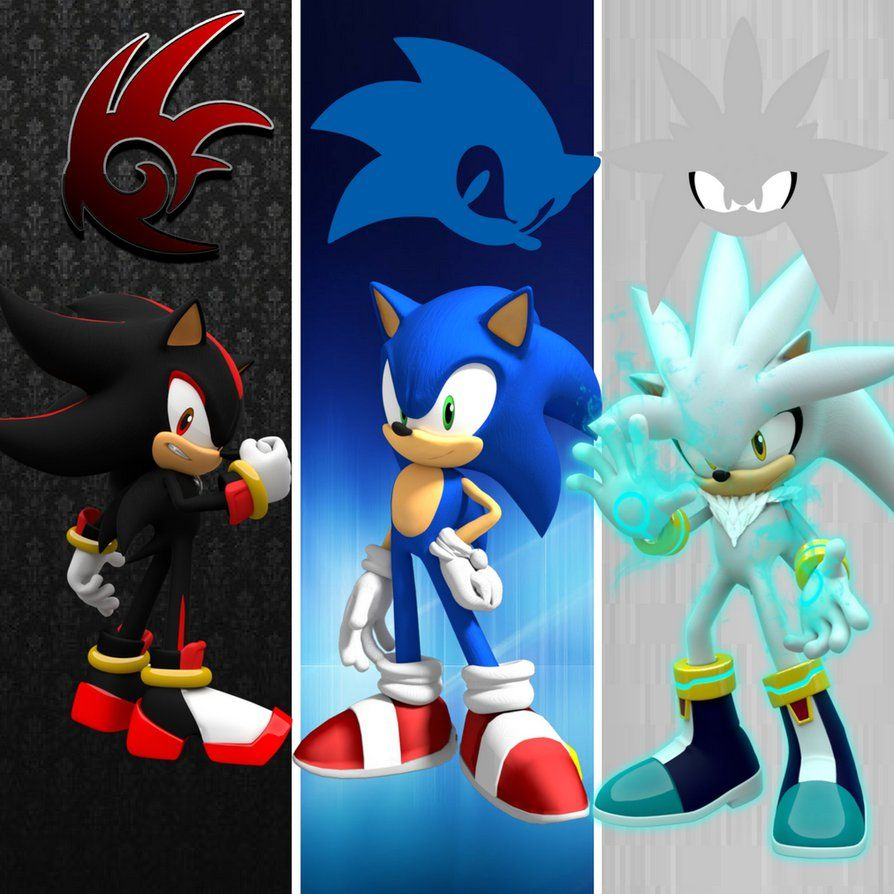 CASANDRA: Sonic shadow and silver as girls