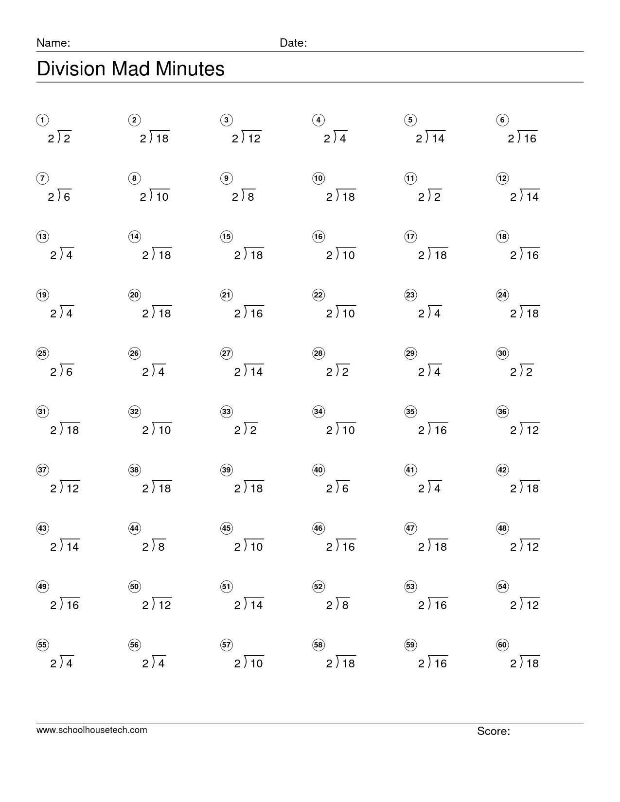 22 4th Grade Division Worksheets Printable ~ madhawiesdiary
