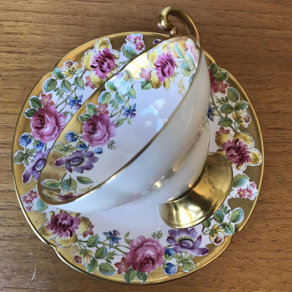 Alte Royale Swansea Vintage Teetasse Und Etsy Teetasse Vintage Teetassen Vintage Tee