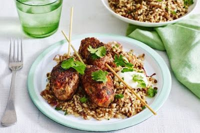 Beef kofta with lebanese rice and lentils recipe arabic food beef kofta with lebanese rice and lentils recipe arabic food recipes bloglovin forumfinder Choice Image