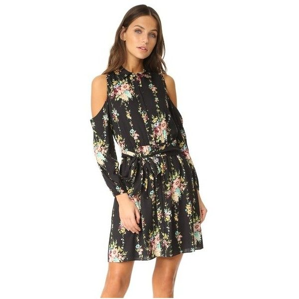 Clearance Store For Sale Cheap Sale Official Alice+Olivia floral cold shoulder dress Cheap Sale Choice Purchase Sale Online Clearance Eastbay 2UXp9PeTM