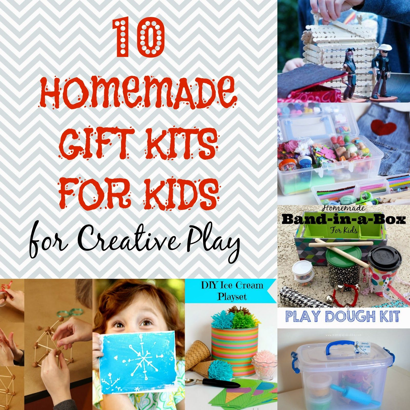 10 Unique Homemade Gift Kits for Kids for Creative Play - The Eyes ...