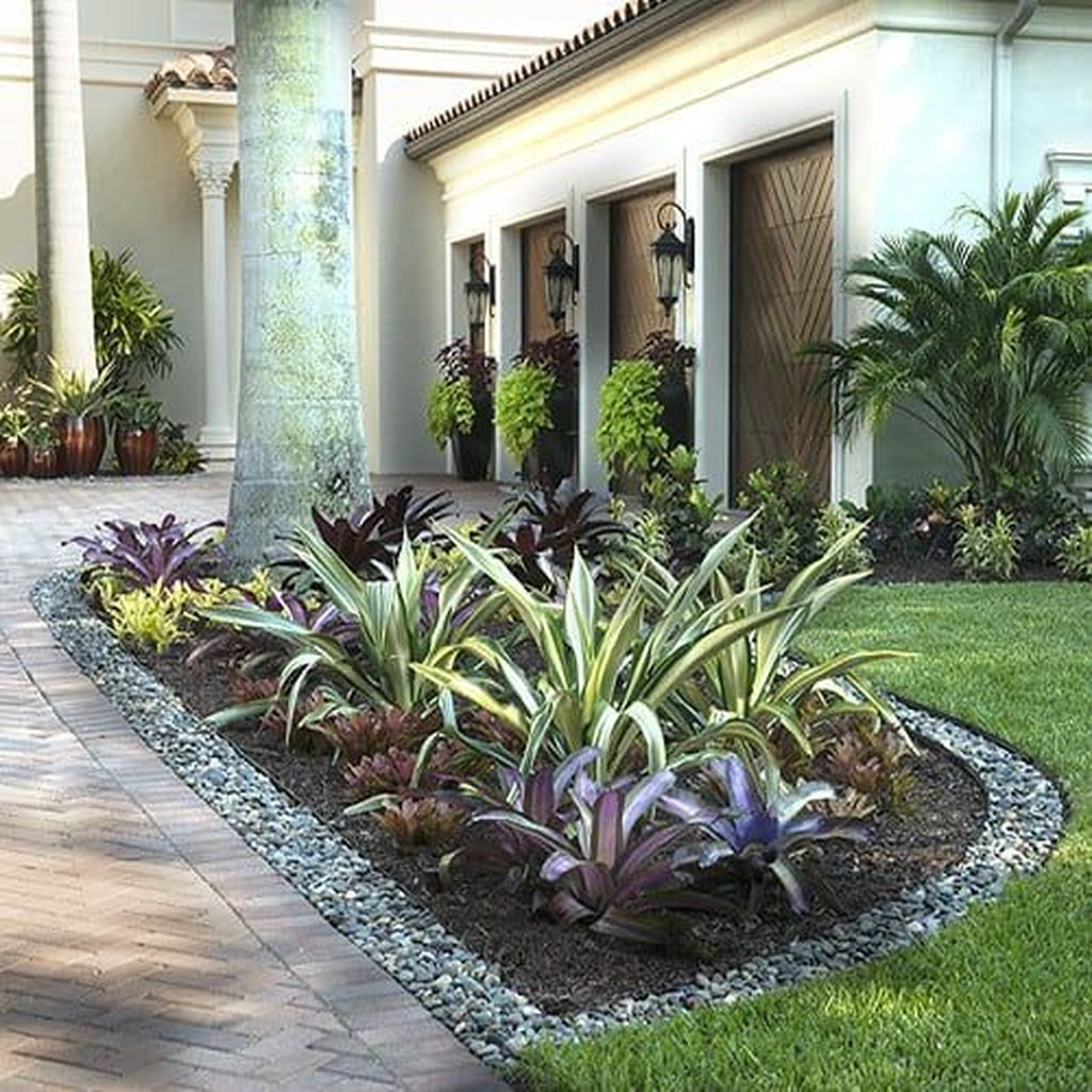 40 fresh tropical garden ideas with house plants with on attractive tropical landscaping ideas id=88806