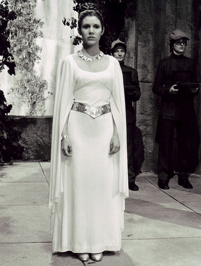 A bit torn between Leia\'s celebration gown and Padme\'s lake gown ...