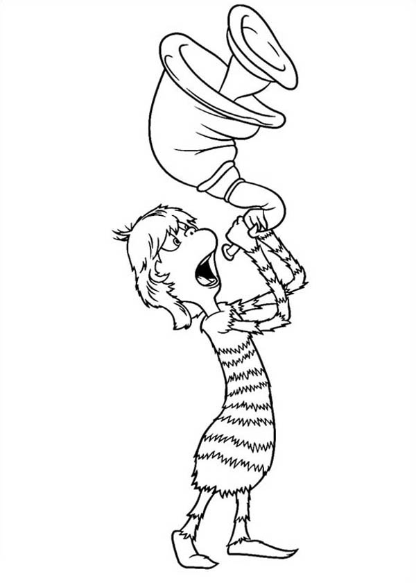 Dr Mary Lou Larue Blowing Horn In Horton Hears A Who Coloring Pages Bulk Color Grinch Coloring Pages Dr Seuss Coloring Pages Free Coloring Pages