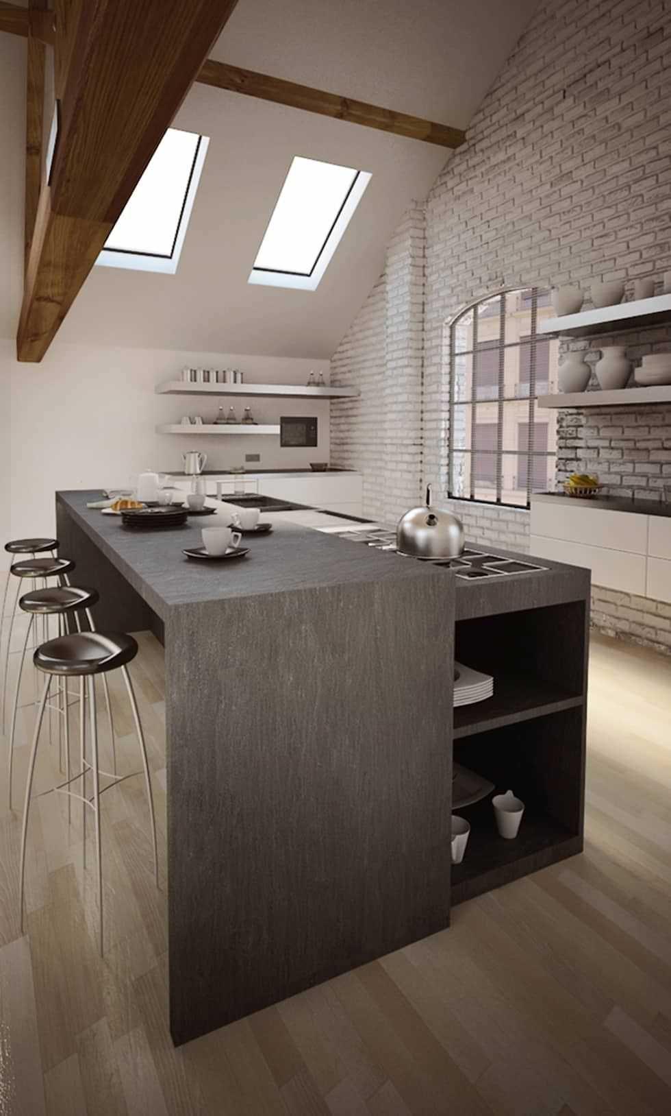 100 idee cucine con isola moderne e funzionali cucina for Cucine di design con isola