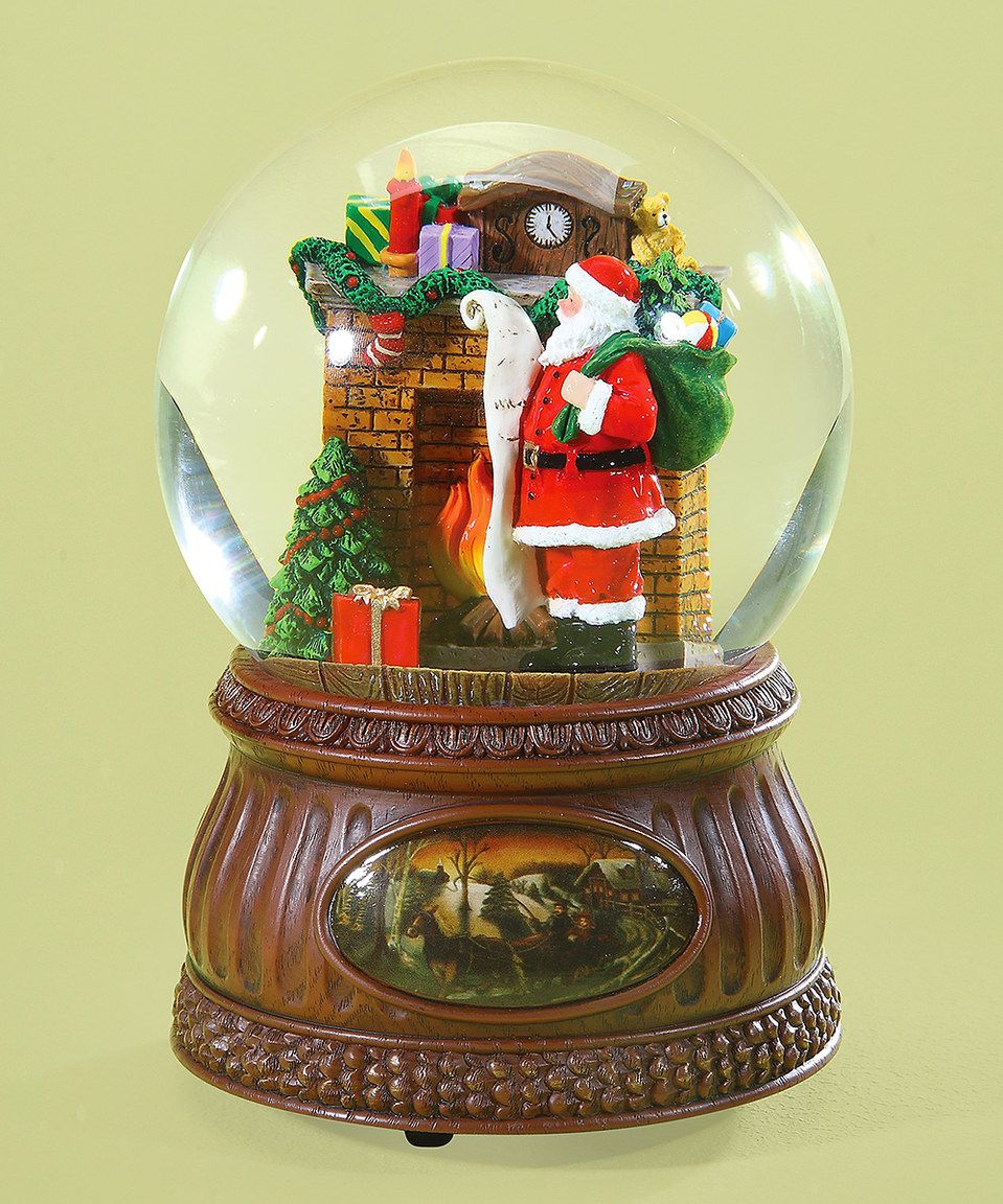 Look what I found on zulily! Santa Fireplace Musical