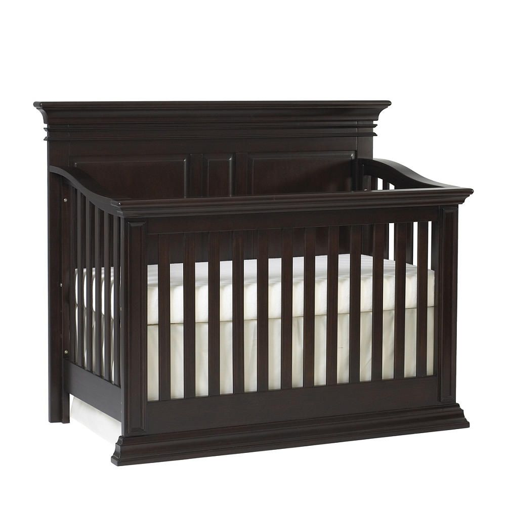 Crib in babies r us - Baby Cache Vienna 4 In 1 Convertible Crib Espresso