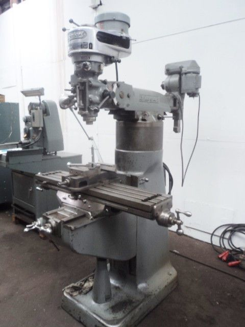 Bridgeport Mill For Sale >> Bridgeport Vertical Mill W Bridgeport Shaping Attachment And