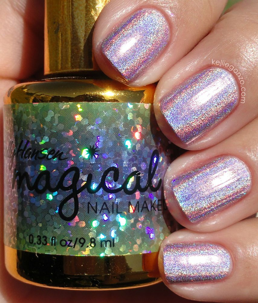 KellieGonzo: Sally Hansen Magical - Fairy Dust Pink   makeup & nails ...