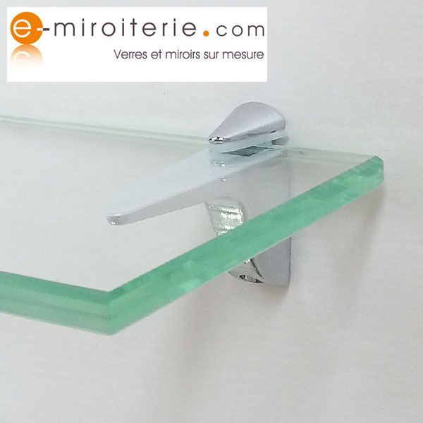 Tablette En Verre Trempe Sur Mesure Tablette En Verre Support Tablette Etagere En Verre
