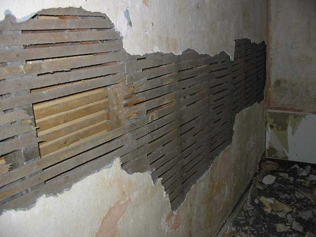 Lath And Plaster Walls Patch Repair Renovation
