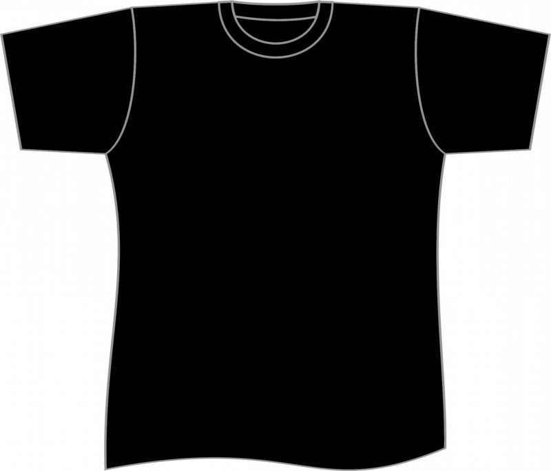 Download Pin By Hany Sa3eed On Size Plain Black T Shirt Shirt Template V Neck T Shirt