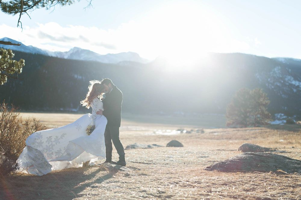 A Love Shoot At Rocky Mountain National Park Image Denverwedding Via Luxemtweddings