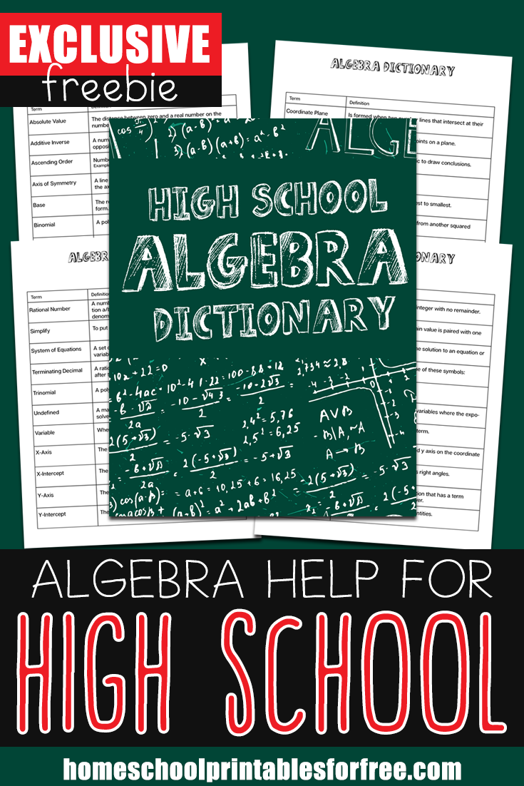 Middle & High School Archives Homeschool Printables for