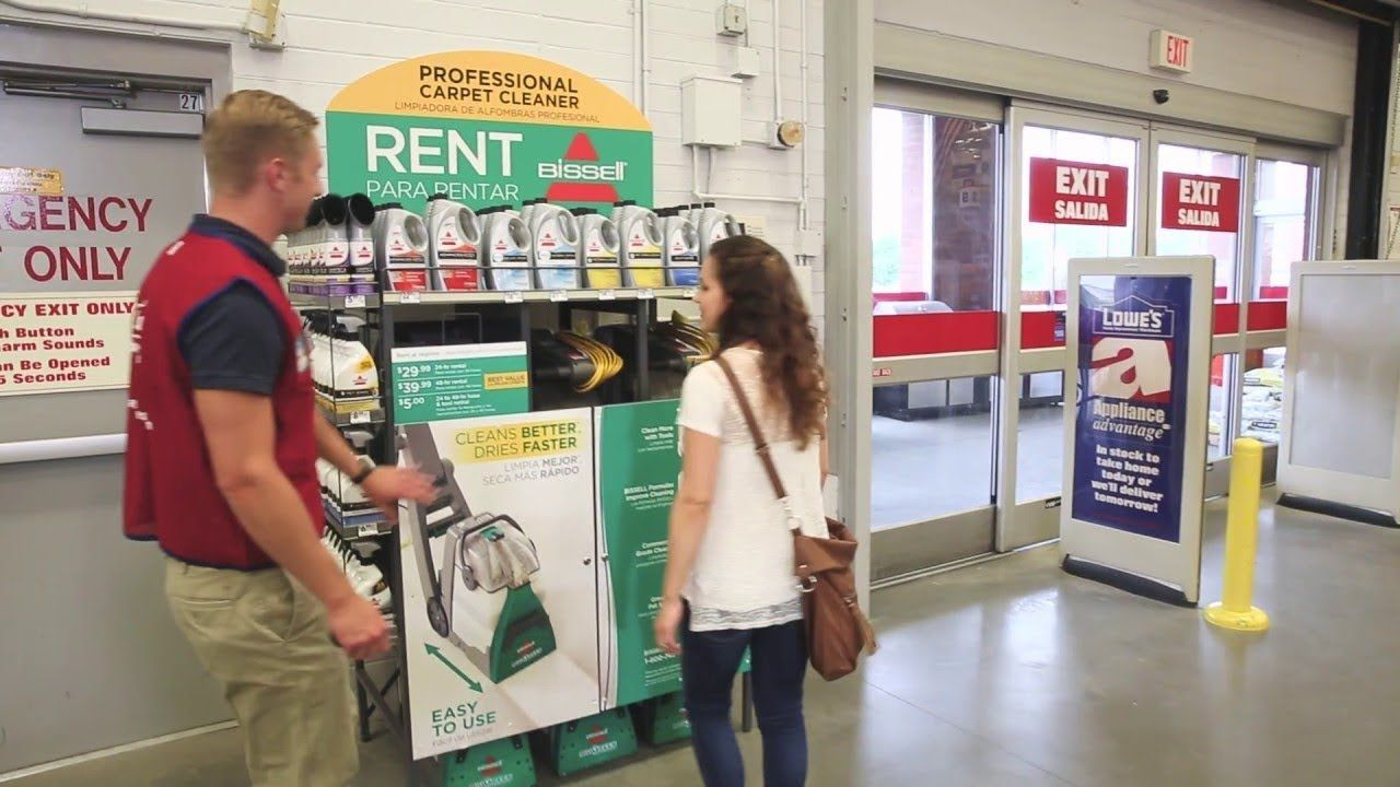 BISSELL Rental How to Rent the BISSELL Big Green Carpet