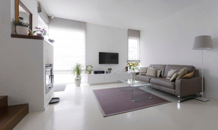 How To Polish Marble Floors, Polished White Marble Floor Design | Flooring  Ideas | Pinterest | Marble Floor, White Marble And Floor Design