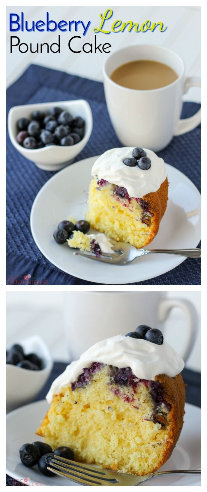 This Blueberry Lemon Pound Cake Is Quick And Easy Because It Starts