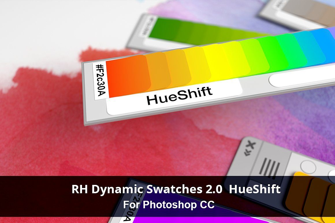 Rh Dynamic Swatches 2 0 Hueshift Swatch Photoshop Resources