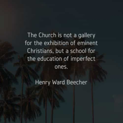 50 Church quotes and sayings that will surprise you
