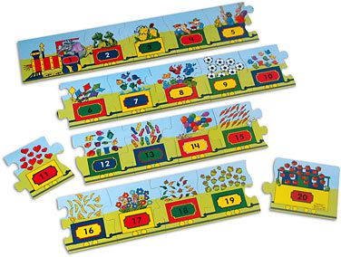 Number Train Floor Puzzle At Lakeshore Learning