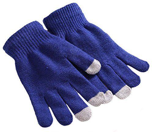 a5362f86e0c6ea Demarkt unisex Damen Herren strick warm winter Herbst mit Touchfunktion  Handy Gloves Handschuhe für Touchscreen Touch