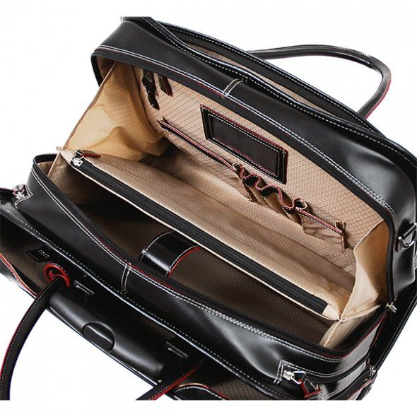 Stylish rolling briefcase with laptop storage | Office Accessories ...
