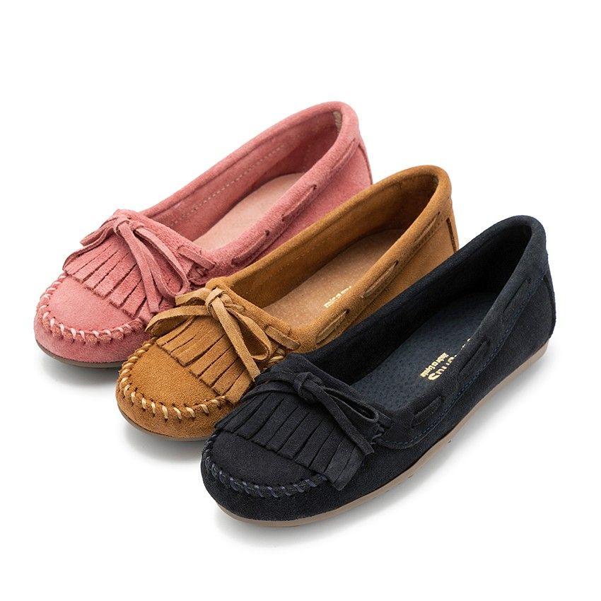 Mocasines serraje flecos niña y mujer | Sapatos, Sapatilhas