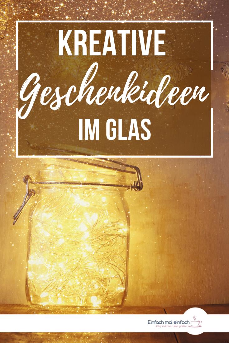 Geschenkideen im Glas #weihnachtsdekoimglas