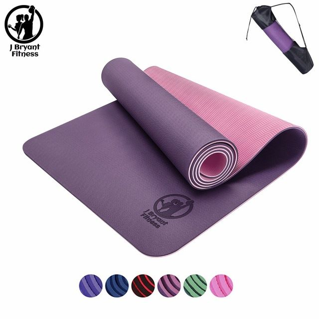 gift #Yoga #fitness #Buy_now 3 #in #1 #TPE #Yoga #Mat #6mm ...
