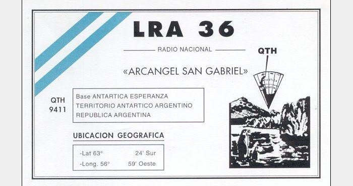 ANTARCTICA, 15476, LRA 36, Radio Nacional Arcángel San