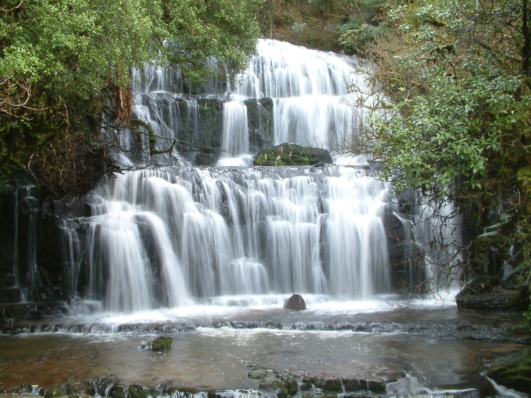 Purakanui Falls, South Otago