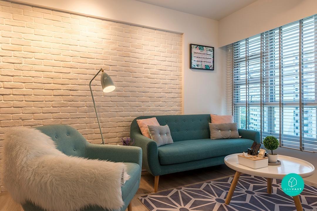 No Renovation Required 8 Low Cost Home Makeover Hacks Interior Design Singapore Living Room Scandinavian Living Room Goals