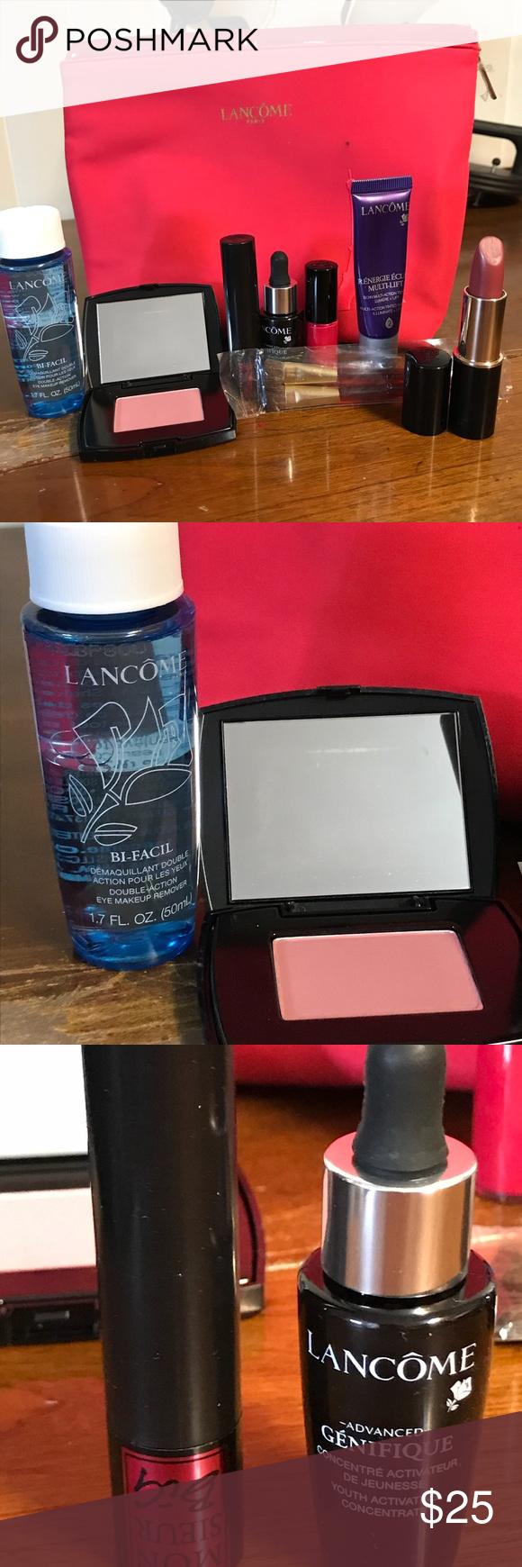 Lancôme Sampler Bundle NWT Eye makeup remover,