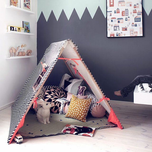 Kids Tent by Ferm Living & Kids Tent by Ferm Living   Kids tents Teepee tent and Kids s