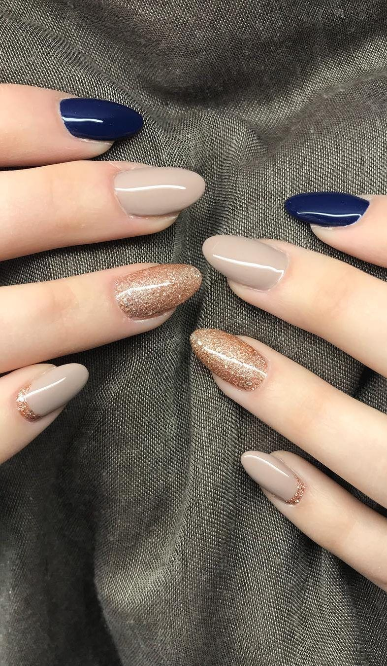44 Best Coffin Nail Gel Nail Designs For Summer 2019 Page 6 Of 43 Belikeanactress Com Gel Nail Designs Gel Nails Nail Designs