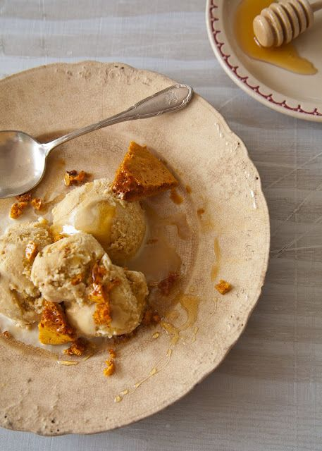 Cooking Lessons: Gimme candy, gimme ice cream, gimme sugar: honeycomb ice cream recipe