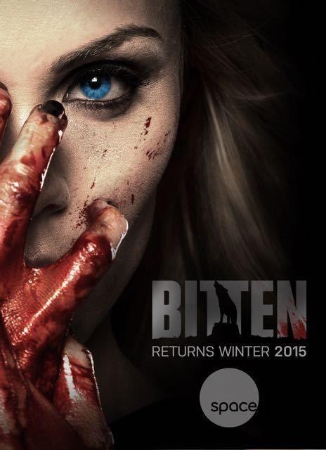 Bitten Confira O Poster Promocional Da 2ª Temporada Laura