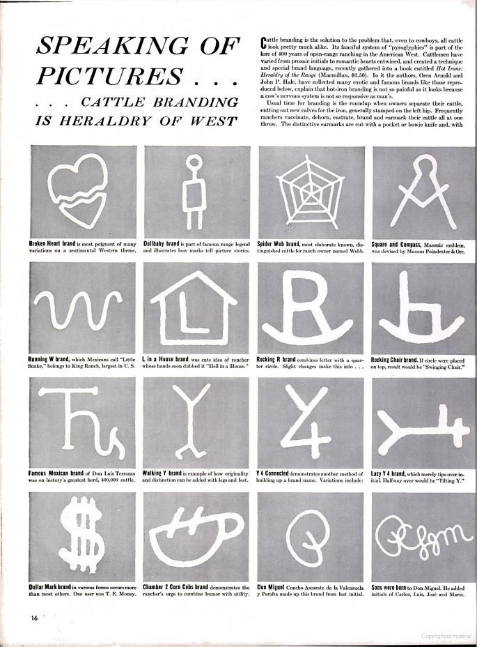 Life Google Books Monograms Cattle Cowboy Ranch