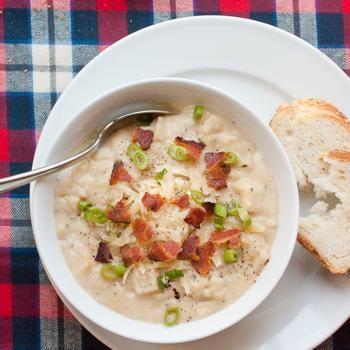 Crock Pot Loaded Baked Potato Soup Recipe - ZipList