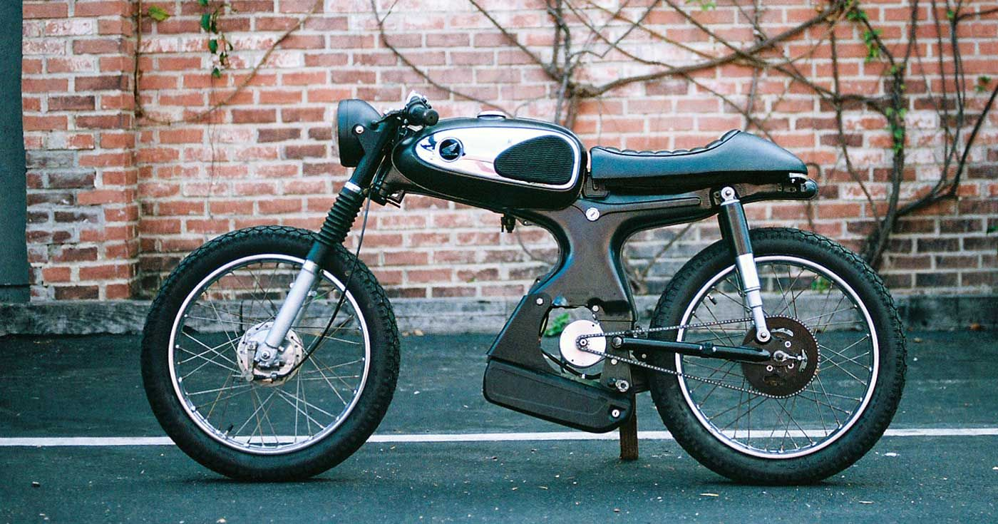 The 929 Moped That Won A Global Custom Build Off In 2020